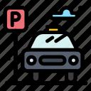 car, city, life, parking