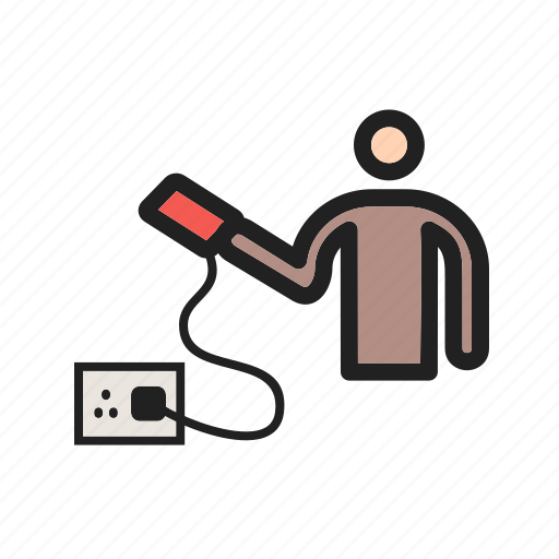 battery, business, charging, energy, full, laptop, technology icon