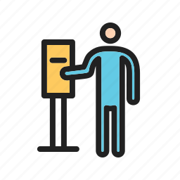 city, machine, meter, parking, pay, payment, ticket icon