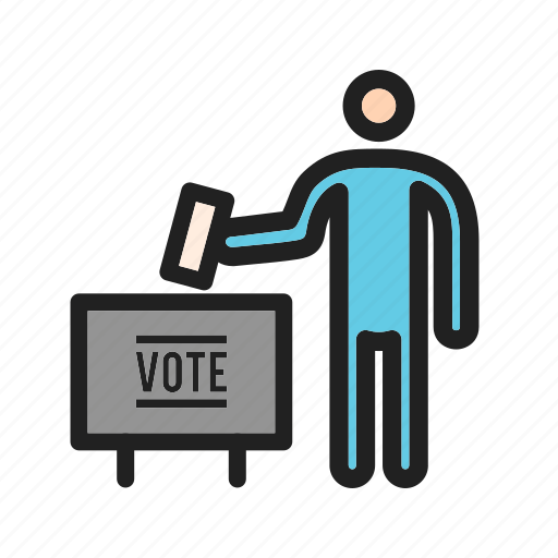 ballot, booth, box, election, peoples, vote, voting icon