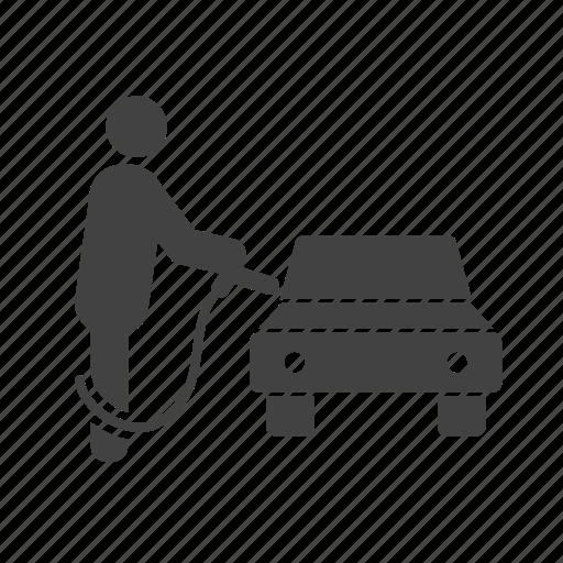 car, fuel, full, gas, gasoline, pump, station icon