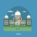 bima, building, city, indonesian, monument, travel icon