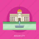 bogor city, building, city, indonesian, monument, travel icon
