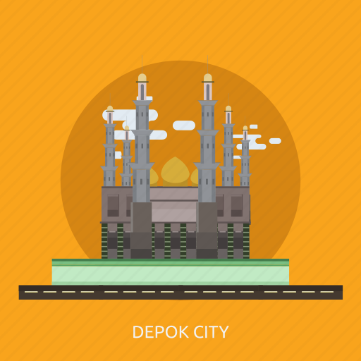 building, city, depok city, indonesian, monument, travel icon