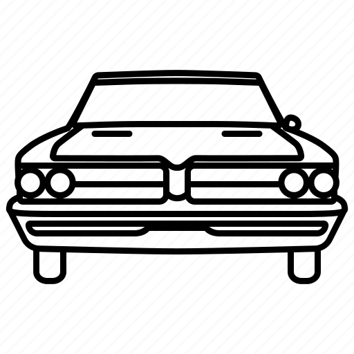automobile, car, classic, retro, vintage icon