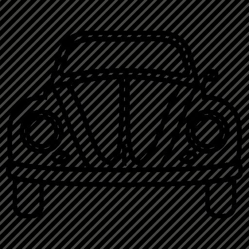 automobile, car, classic, five, retro, vintage, volkswagen icon