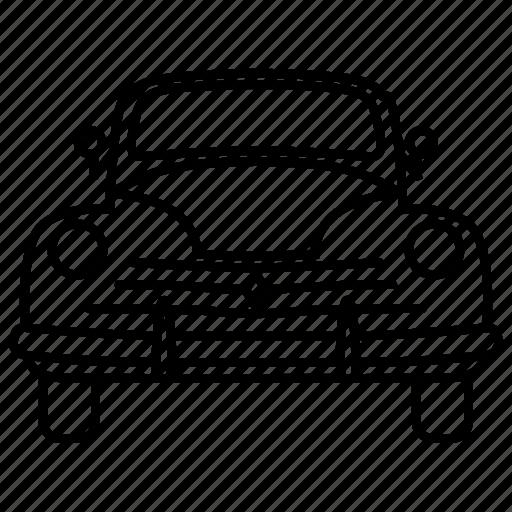 automobile, car, classic, retro, vintage icon
