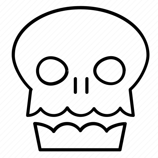 death, halloween, human, reaper, skeleton, skull icon