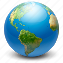 earth, globe, internet, map, network, web, world icon