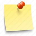 memory, note, pin, todo icon