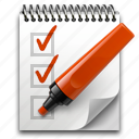 edit, list, marker, notepad, pen, pencil, todo, write icon