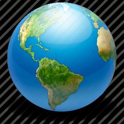 earth, globe, internet, map, network, web, world icon