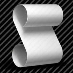 document, page, paper, script icon