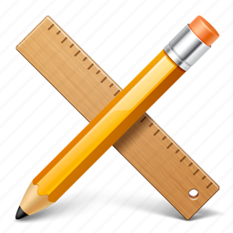 application, applications, edit, pencil, ruller, write icon