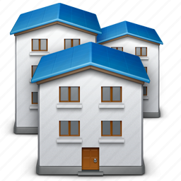 building, construction, home, hotel, house, office, real estate icon