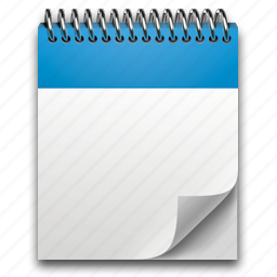 document, note, notepad, paper, write icon