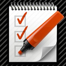 edit, list, marker, notepad, pen, pencil, todo, write icon