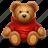 bear, gift, present, toy icon