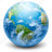 cloud, clouds, cloudy, globe, rain, weather, world icon