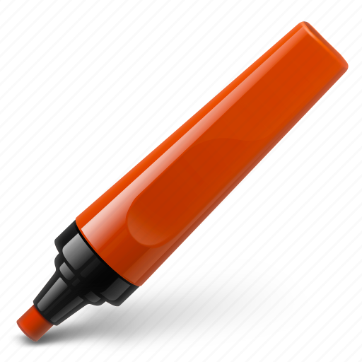 mark, marker, pen, pencil, red, select, write icon