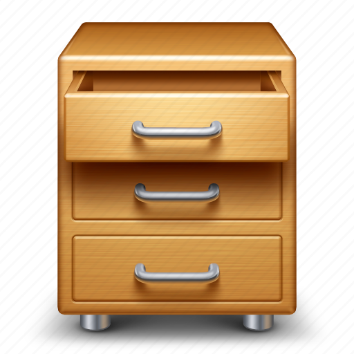 archive, cabinet, drawer, drawers, storage icon