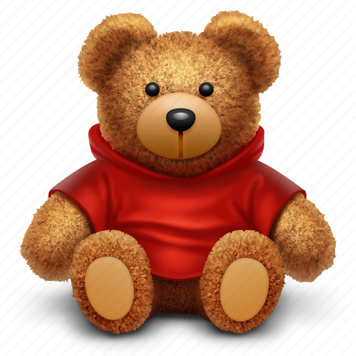 bear, gift, present, toy icon