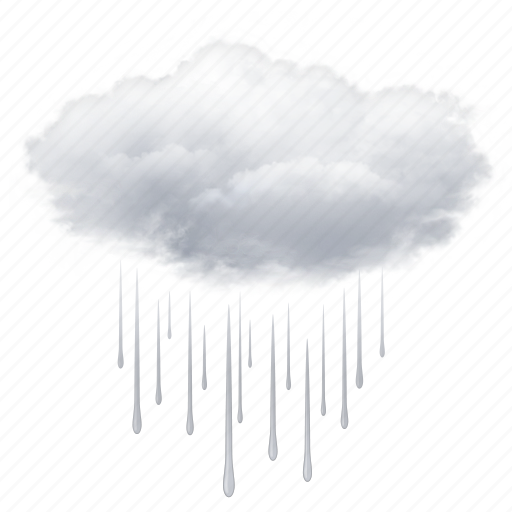 cloud, clouds, cloudy, drops, rain, weather icon