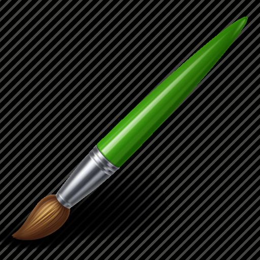 art, brush, color, design, graphic, paint icon