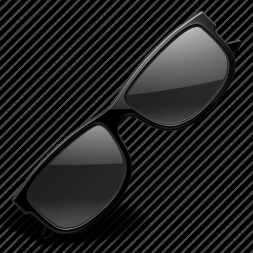 glasses, sun, sunny, weather icon