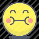 emoji, emotion, face, fat, smile