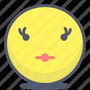 emoji, emotion, face, female, smile