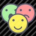 emoji, emotion, face, group, smile