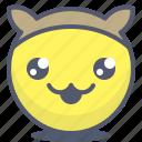 emoji, emotion, face, mascot, smile