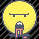 emoji, emotion, face, monster, smile
