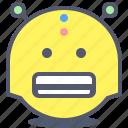 emoji, emotion, face, robot, smile