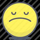 emoji, emotion, face, sad, smile