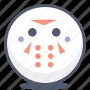 emoji, emotion, face, samurai, smile icon