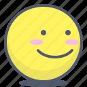 emoji, emotion, face, sideview, smile
