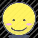 emoji, emotion, face, smile, topview