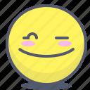 emoji, emotion, face, smile, twinkle