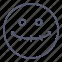 dead, emoji, emotion, face, smile