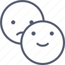 emoji, emotion, face, happy, sad, smile