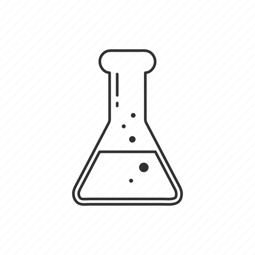beakers, equipement, flask, lab, laboratory, science, testube icon