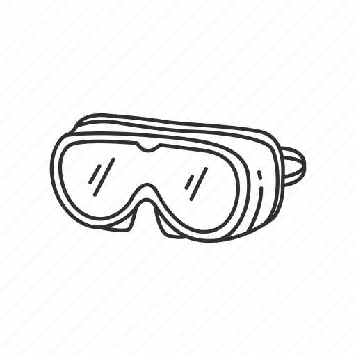 diving, eyewear, glasses, goggles, protection, sports, swim icon