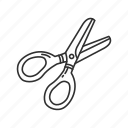 trim, school, cut, equipment, tool, scissor, barber icon