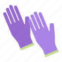 clean, glove, gloves, household, maid, protection, rubber icon