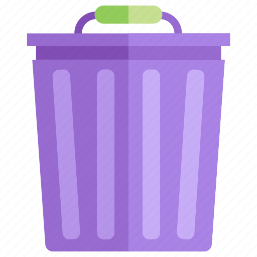 Bin, can, disposal, garbage, recycle, trash, trashcan icon - Download on Iconfinder