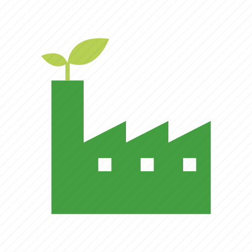 energy, green, manufacturing, sustainable icon