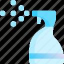 bathroom, clean, detergent, spray, toilet