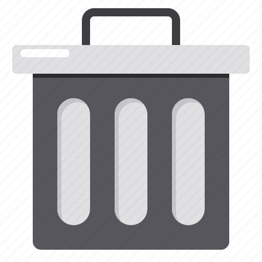 Bin, delete, recycle, remove, trash icon - Download on Iconfinder